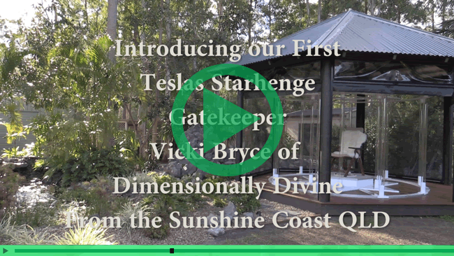 Self Realisation and Enlightenment - Tesla Starhenge Gatekeepers - Introducing Vicki Bryce of Dimensionally Divine.